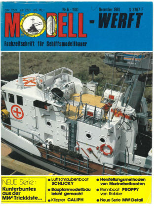 MODELLWERFT 06/1981