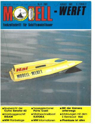 MODELLWERFT 04/1981