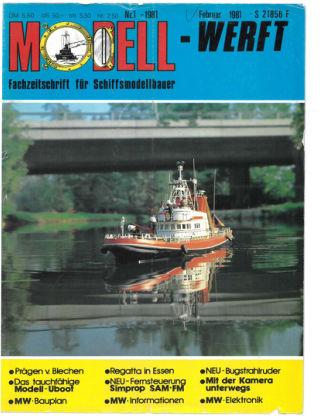 MODELLWERFT 01/1981