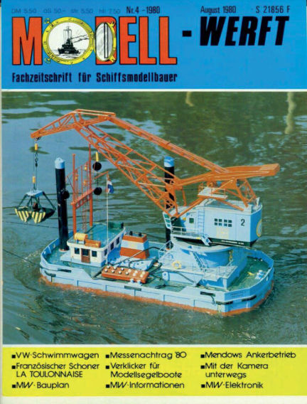 MODELLWERFT March 03, 1980 00:00