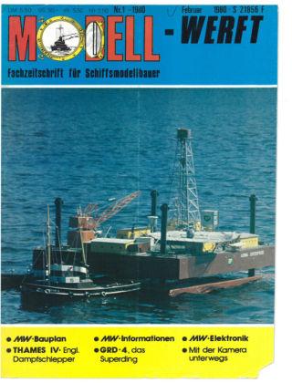 MODELLWERFT 01/1980