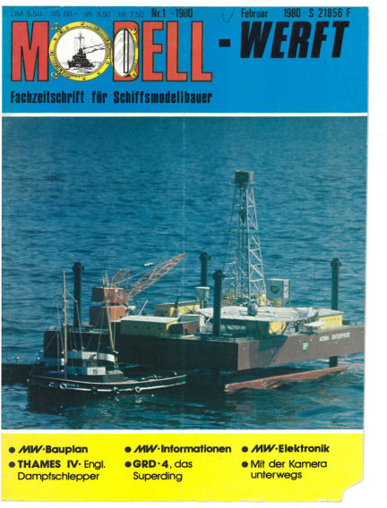 MODELLWERFT December 03, 1979 00:00
