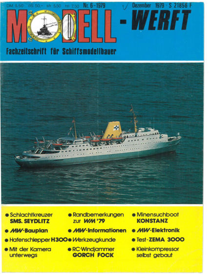 MODELLWERFT May 01, 1979 00:00