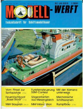 MODELLWERFT 08/1978