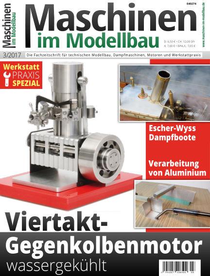 Maschinen im Modellbau April 19, 2017 00:00