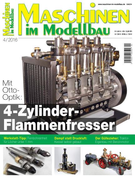 Maschinen im Modellbau June 16, 2016 00:00