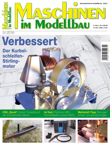 Maschinen im Modellbau April 14, 2016 00:00