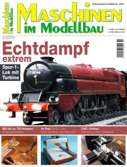 Maschinen im Modellbau February 11, 2016 00:00