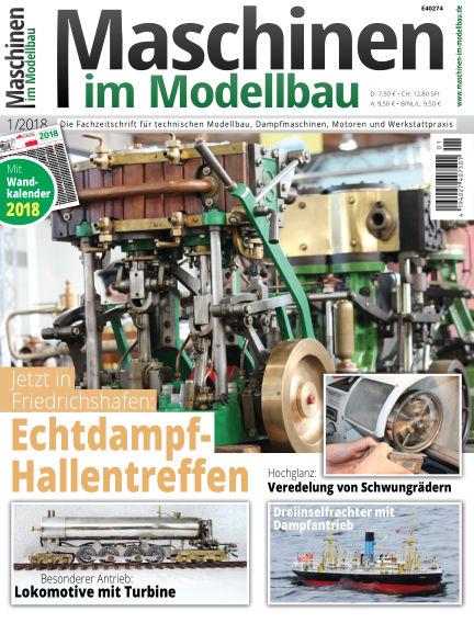 Maschinen im Modellbau December 13, 2017 00:00
