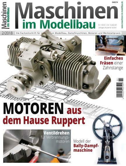 Maschinen im Modellbau February 15, 2018 00:00