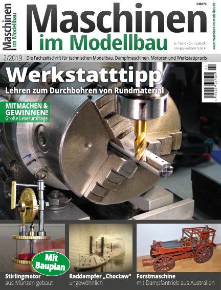 Maschinen im Modellbau February 20, 2019 00:00