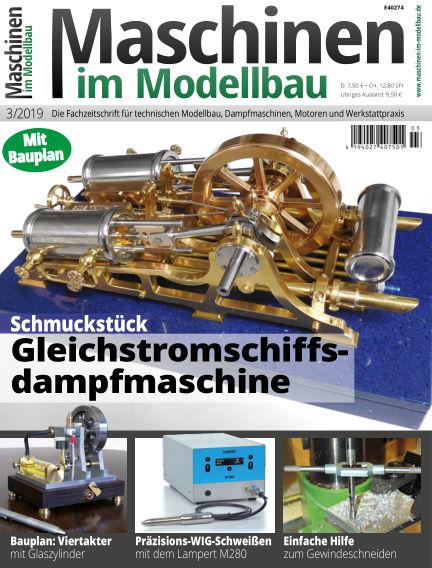 Maschinen im Modellbau April 10, 2019 00:00