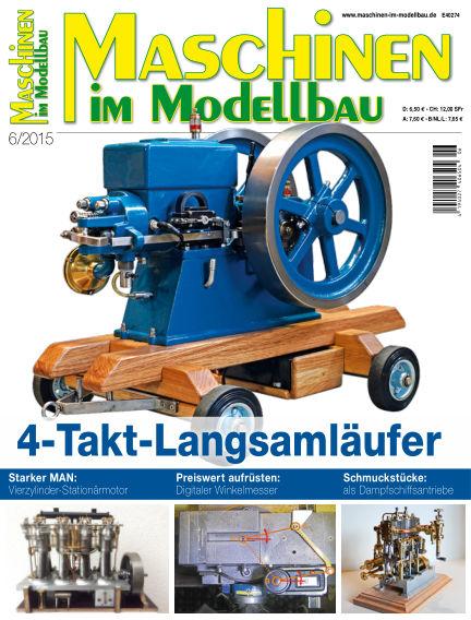 Maschinen im Modellbau October 15, 2015 00:00