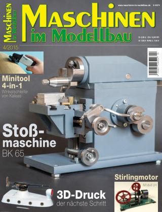 Maschinen im Modellbau 04/2015