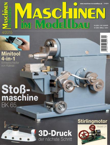 Maschinen im Modellbau June 17, 2015 00:00