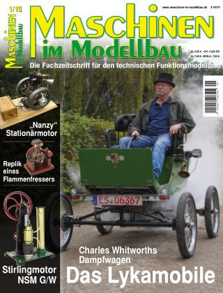 Maschinen im Modellbau 01/2015