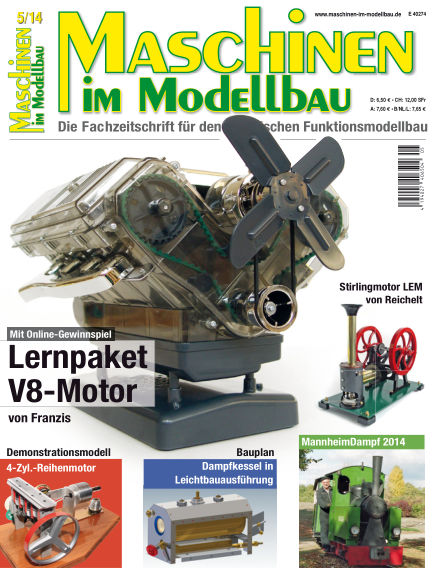 Maschinen im Modellbau September 01, 2014 00:00
