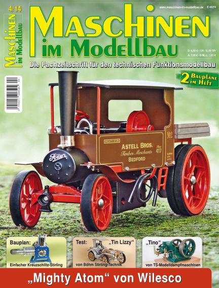Maschinen im Modellbau July 01, 2014 00:00