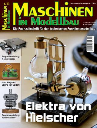 Maschinen im Modellbau 04/2013