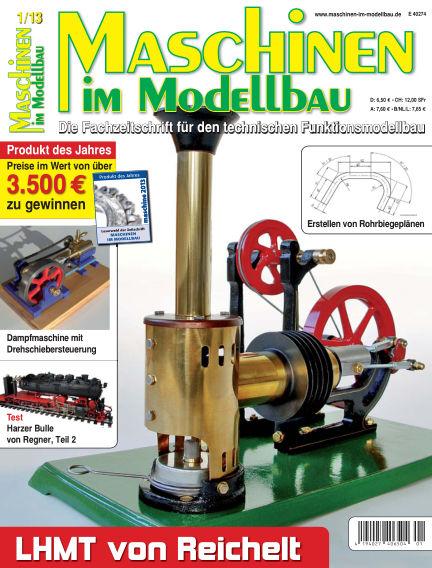 Maschinen im Modellbau January 01, 2013 00:00