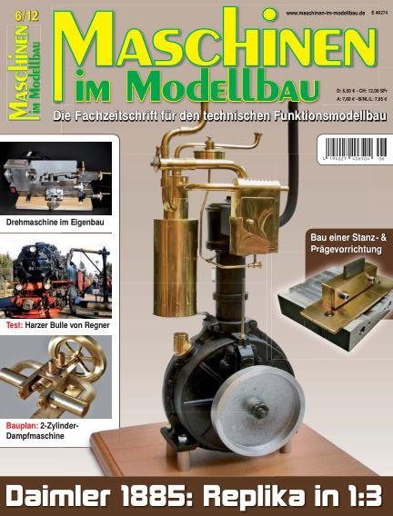 Maschinen im Modellbau November 01, 2012 00:00