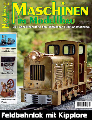 Maschinen im Modellbau 04/2012