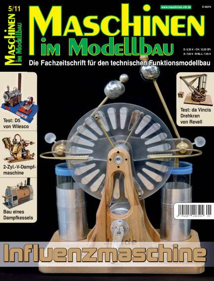 Maschinen im Modellbau September 01, 2011 00:00