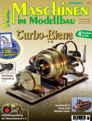 Maschinen im Modellbau 01/2011