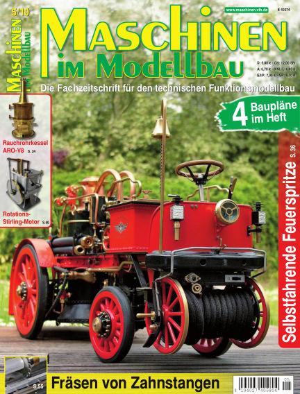 Maschinen im Modellbau September 01, 2010 00:00
