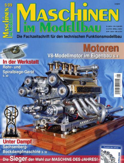 Maschinen im Modellbau September 01, 2009 00:00