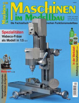 Maschinen im Modellbau 04/2009