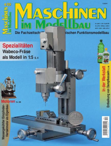 Maschinen im Modellbau July 01, 2009 00:00