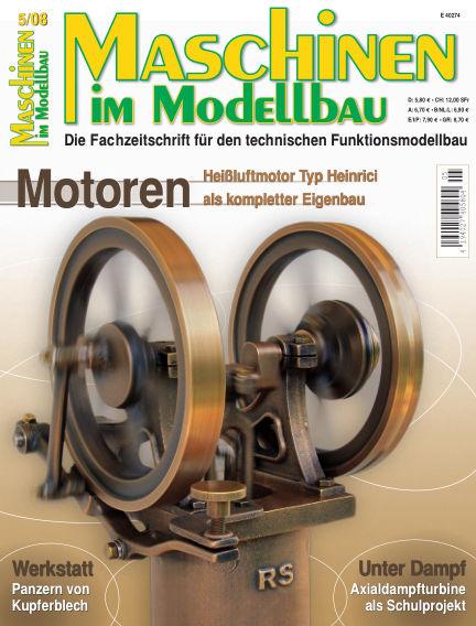 Maschinen im Modellbau September 01, 2008 00:00