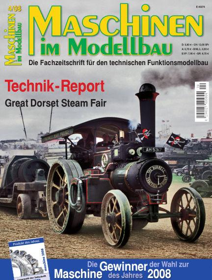 Maschinen im Modellbau July 01, 2008 00:00