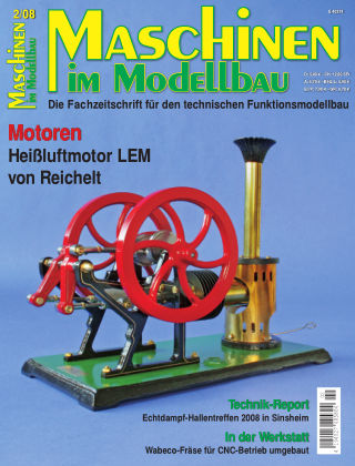 Maschinen im Modellbau 02/2008
