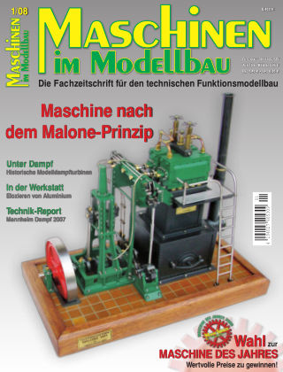 Maschinen im Modellbau 01/2008