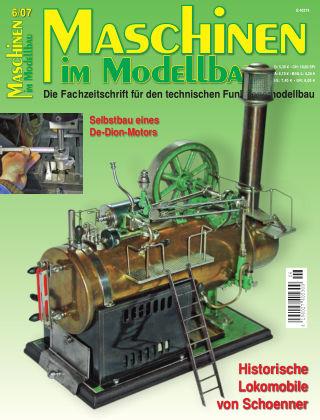 Maschinen im Modellbau 06/2007