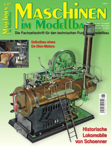 Maschinen im Modellbau November 01, 2007 00:00