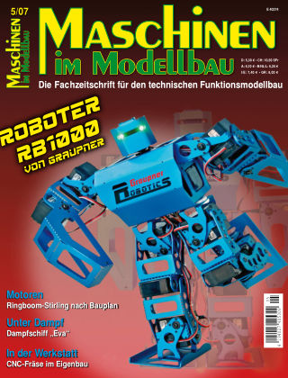 Maschinen im Modellbau 05/2007