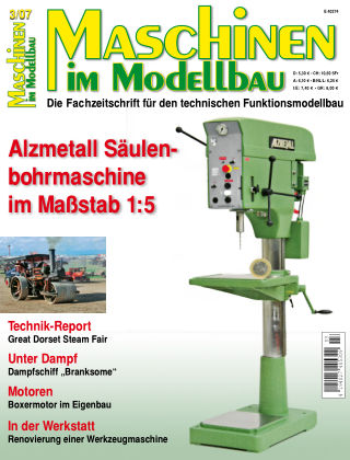 Maschinen im Modellbau 03/2007