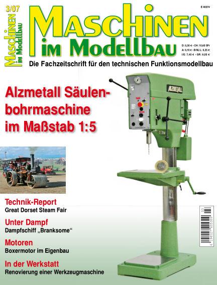 Maschinen im Modellbau May 01, 2007 00:00