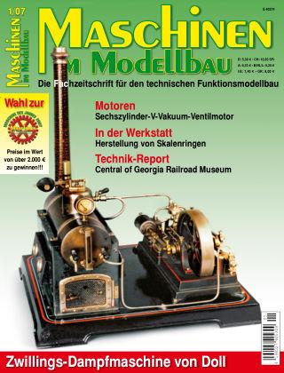 Maschinen im Modellbau 01/2007