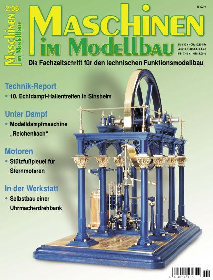 Maschinen im Modellbau March 01, 2006 00:00