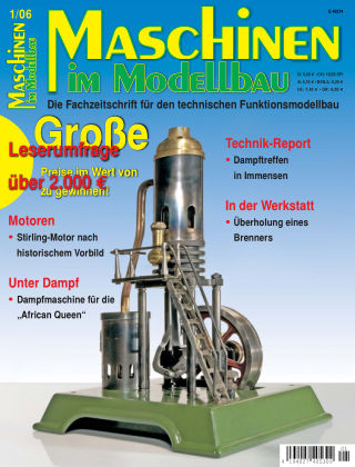 Maschinen im Modellbau 01/2006