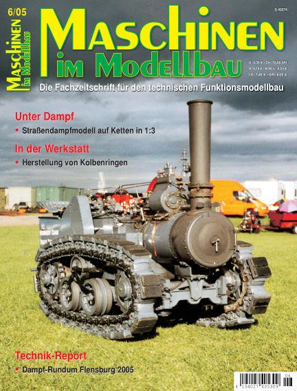 Maschinen im Modellbau November 01, 2005 00:00