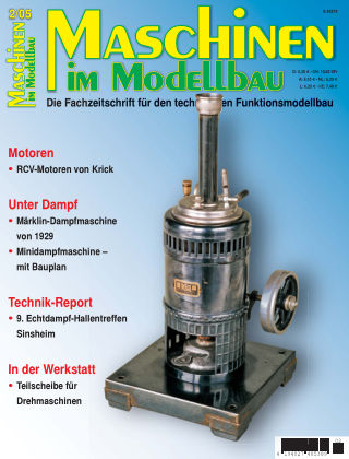 Maschinen im Modellbau 02/2005