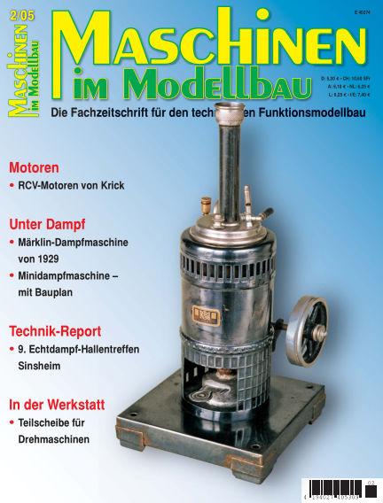 Maschinen im Modellbau March 01, 2005 00:00