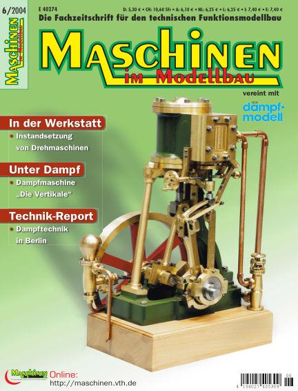 Maschinen im Modellbau November 01, 2004 00:00