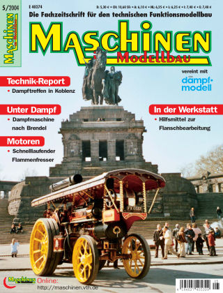 Maschinen im Modellbau 05/2004