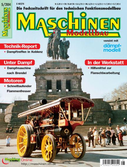 Maschinen im Modellbau September 01, 2004 00:00